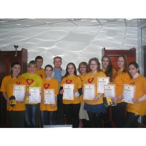 В компании «Билайн» прошла встреча с волонтерами