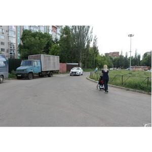 ОНФ обеспокоен отсутствием пешеходной дороги из жилого комплекса