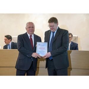 Сергей Чемезов наградил лучшие региональные отделения Союза машиностроителей России