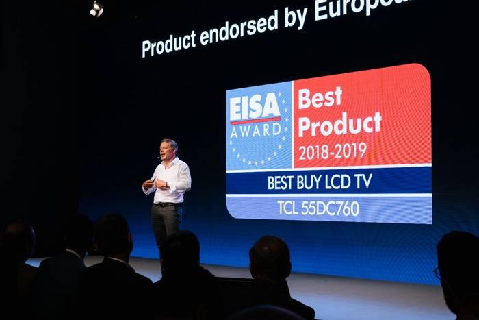 Компания TCL представила новинки на IFA-2018 в Берлине