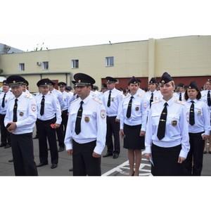 Руководство УВД Зеленограда поздравило личный состав с 300-летием российской полиции