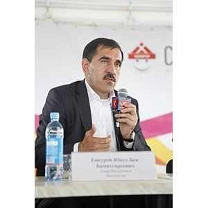 Глава республики Ингушетия в эфире телеканала «Синергия ТВ»