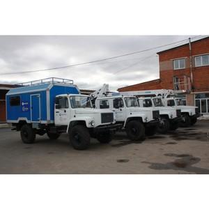 Автопарк филиала «Удмуртэнерго» пополнился новой спецтехникой