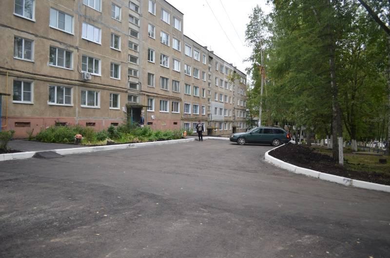 Под контролем ОНФ в Саранске завершилось благоустройство двора по улице Есенина