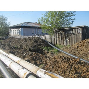 """јктивисты ќЌ' вы¤вили нарушени¤ при капитальном ремонте водопровода в ¬ерхнем """"фалее"""