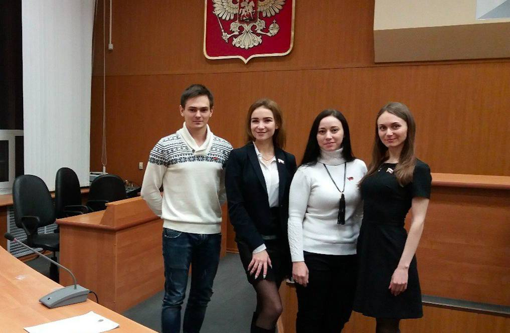 Студентка Дзержинского филиала РАНХиГС вошла в состав Молодёжного Парламента города Дзержинска