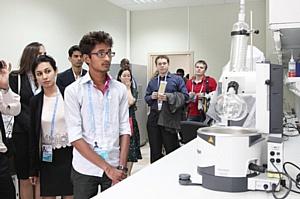 Участники I молодежного саммита БРИКС посетили КФУ