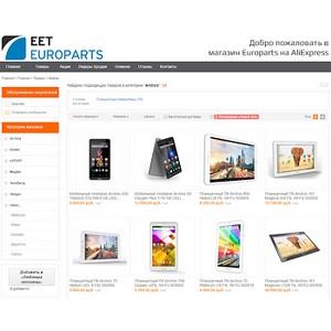 Archos начинает новый формат продаж в Europarts Rus