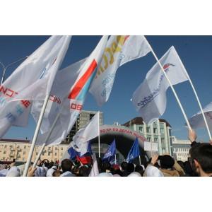 Активисты ОНФ в Чечне приняли участие в митинге-концерте «Россия в моем сердце»