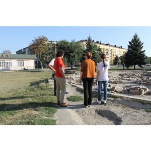 Активисты ОНФ проверили ход благоустроительных работ в Кабардино-Балкарии