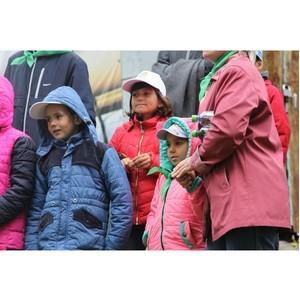 Многодетная семья из Апастово провела выходной день с ТНВ