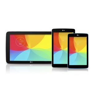 LG расширяет предложение планшетов благодаря новым моделям серии G Pad
