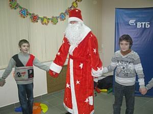 Сотрудники Банка ВТБ в Воронеже подарили детям праздник