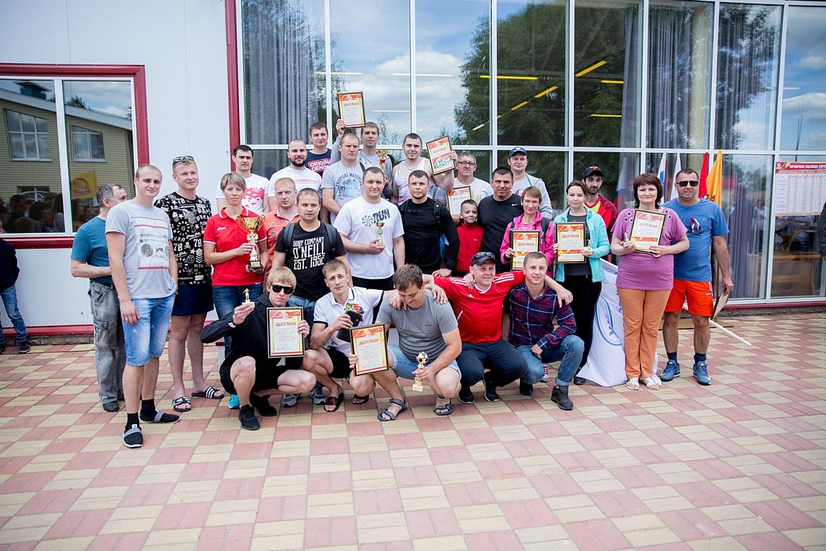 Коллектив Стойленского ГОКа признан самым спортивным в округе