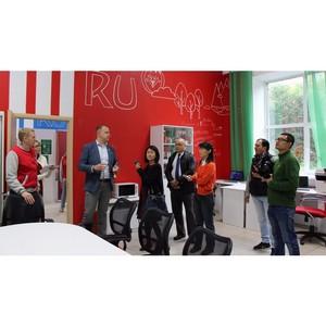 В гостях у волонтеров побывали журналисты из Китая и Эквадора