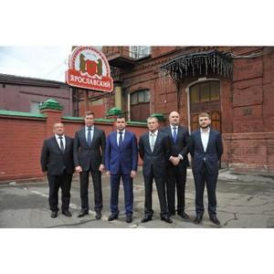 Открытие линии по розливу воды состоялось на Ярославском ликеро-водочном заводе