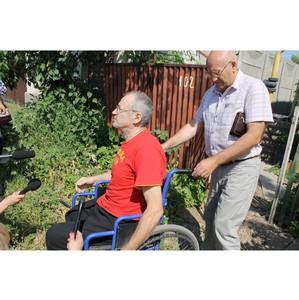 Липецкие активисты ОНФ добиваются восстановления прав инвалида-колясочника на свободу передвижения