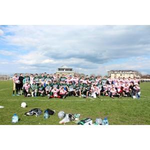 Американский футбол: «Ставропольские камни» победили «Сталинград» со счетом 27:16