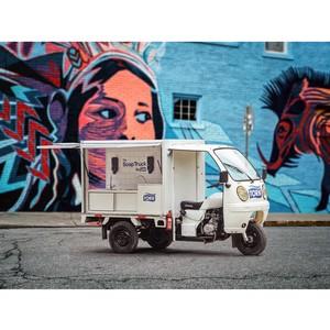 Эксперимент «Мыльный фургон» поможет автокафе решить проблемы гигиены, стоящие на пути их бизнеса