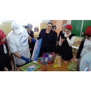 Активисты ОНФ в Чечне провели мастер-классы в рамках проекта «Каждому ребенку – бесплатный кружок»