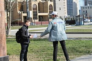 Активисты ОНФ рассказали жителям об участии общества в формировании комфортной городской среды