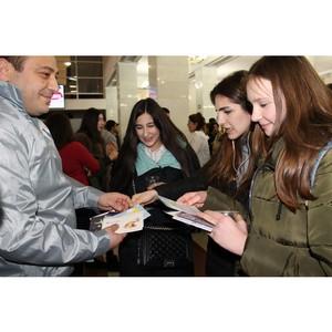 Команда «Молодежки ОНФ» поздравила учащихся вузов и колледжей КБР с Днем российского студенчества