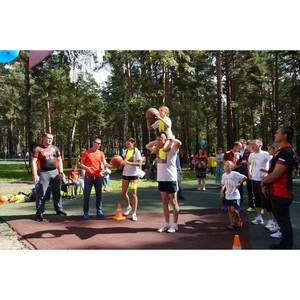 Сотрудники ГУФСИН Кузбасса с семьями приняли участие в игре «Папа, мама, я – спортивная семья»