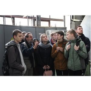 Студенты-первокурсники побывали в Центральной котельной Петрозаводска