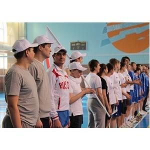 Тюменское отделение ОНФ приняло участие в турнире по волейболу среди любительских команд