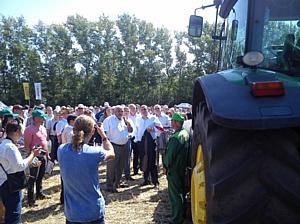 Старт уборки в Орловской области дан!