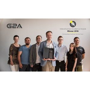 Компании G2a.com Limited вручена премия Global Business Excellence Awards 2016
