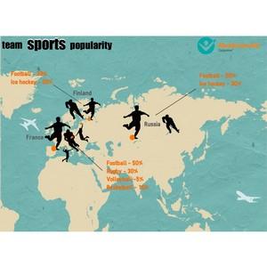 Интернет - пользователи выбрали самый популярный командный вид спорта