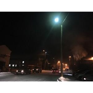 После вмешательства ОНФ устранены нарушения наружного освещения возле школ Салехарда