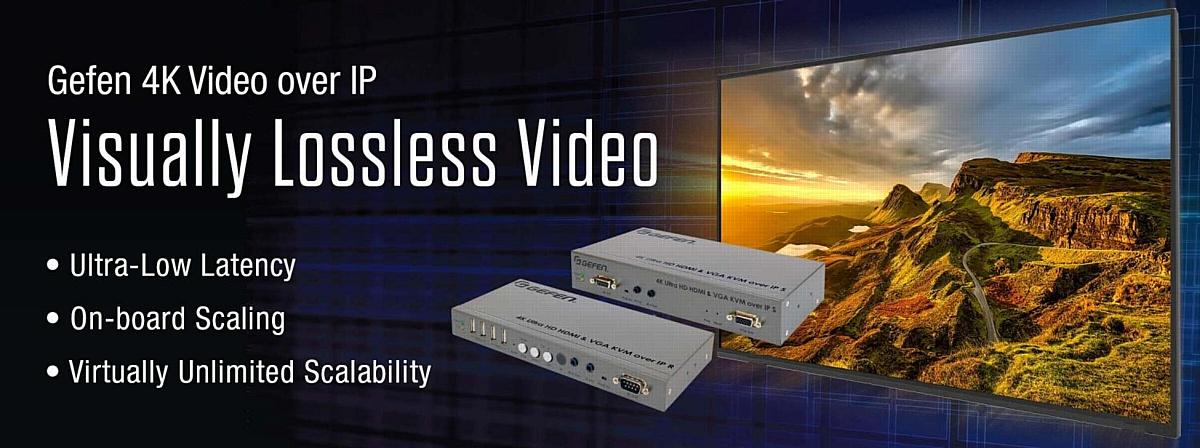 Видеоудлинтели по IP Gefen 4K Ultra HD Video - новый уровень AV/IP