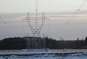 Холдинг Союз поставил под напряжение линию 500 кВ от подстанции Ангара до подстанции Озерная