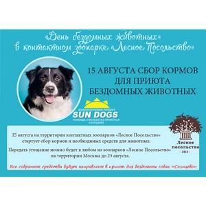 «День бездомных животных» в контактном зоопарке «Лесное Посольство»