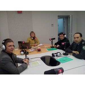 Об участии специалистов Управления в прямом эфире радио «России»