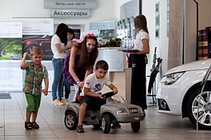 «Пульс города в Ваших руках» с Ауди Центр Москва