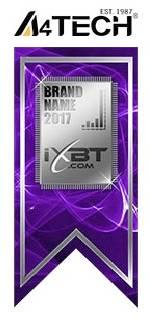 A4Tech вновь получила серебро «iXBT Brand - Выбор читателей»