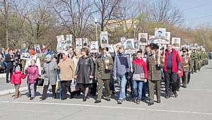 День Победы в университете: на площадь вышли 83 ветерана и 700 участников «Бессмертного полка»