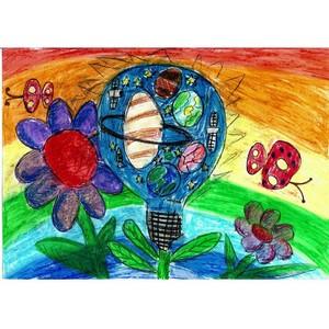Будущий первоклассник из Рязани одержал победу в конкурсе детского рисунка ПАО «Россети»