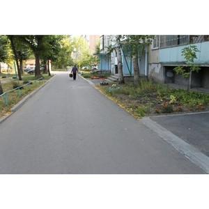 Активисты ОНФ проверили ход исправления замечаний к качеству благоустройства дворов в Кургане