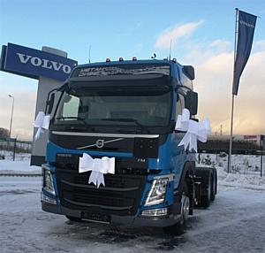 "Первые тягачи Volvo FM 6х4 для ""Газпром трансгаз Екатеринбург"""