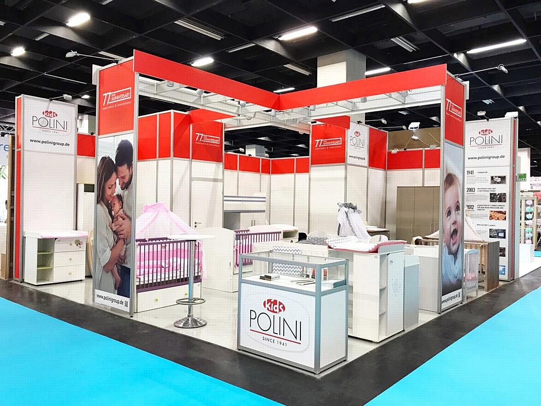 Группа компаний Тополь представила бренд Polini kids на международной выставке Kind + Jugend 2017