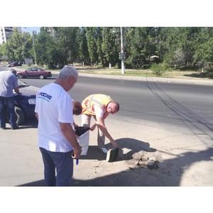 """Активисты ОНФ оценили дороги Волгограда, отремонтированные по проекту """"Безопасные качественные дороги"""""""
