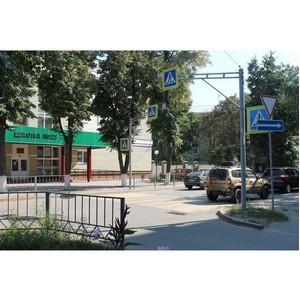 После вмешательства ОНФ в Орле приведены в порядок пешеходные переходы вблизи школ