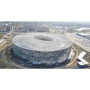 Желающих сделать перепланировку вблизи строящегося стадиона в Нижнем Новгороде выросло на 30%