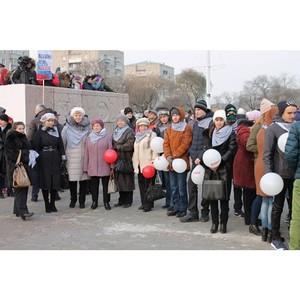 Активисты ОНФ в Амурской области приняли участие в праздновании Дня народного единства