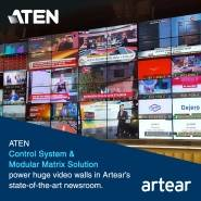 Система управления и модульное матричное решение ATEN для телекомпании Artear