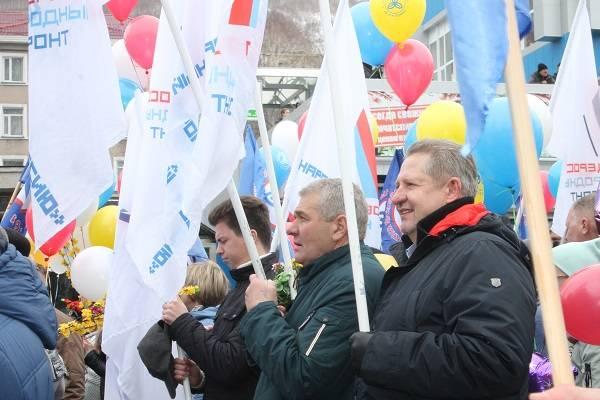 Камчатские активисты ОНФ приняли участие в первомайской демонстрации